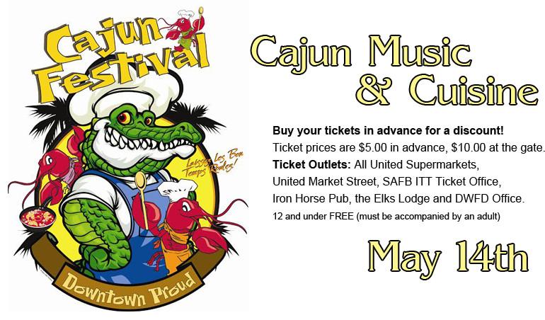 Cajun Festival – May 14