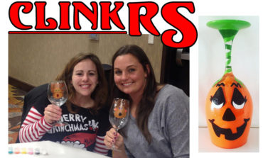 Clinkers - Custom Hand Painted Glassware