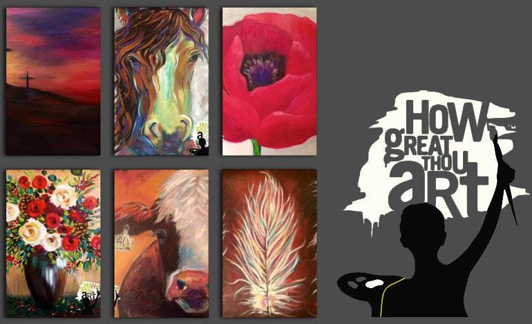 HGTA - How Great Thou Art / Painting Studio