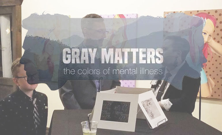 "NAMI Wichita Falls' ""Gray Matters:  the colors of mental illness"" art exhibit"