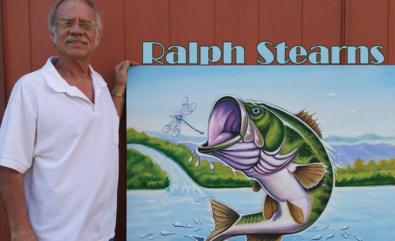 Ralph Stearns  –   Muralist, Photorealist,  and… Sculpture?