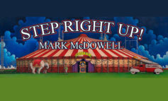 Step Right Up!  - Circus Themed Event Will Spotlight Artist, Mark McDowell