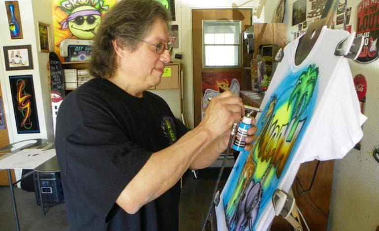 Eddie Mandela – Airbrush Master and Pinstripe Wizard