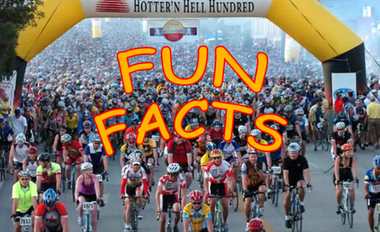 Fun Facts About The Hotter'N Hell Hundred