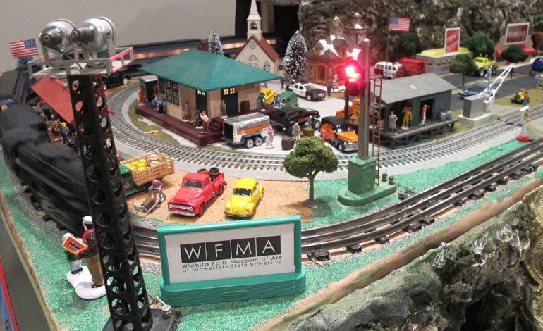 Art Express: Electric Trains on display at Wichita Falls Museum of Art at MSU