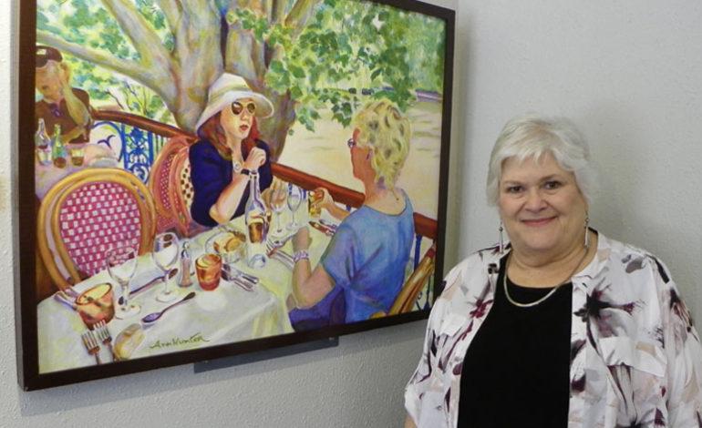 Artist Ann Hunter